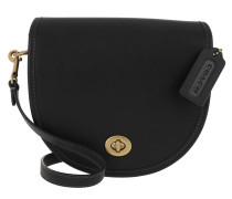 Umhängetasche Turnlock Saddle Bag Black
