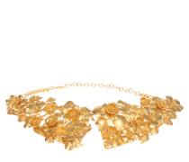Schmuck - Flower Collier Gold