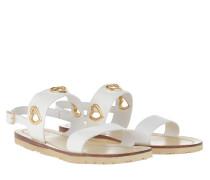 Sandalen Sandal Vitello Bianco