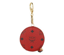 Color Visetos Zip Coin Charm Ruby Red