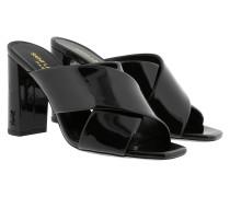 LouLou 95 Slipper Black Schuhe