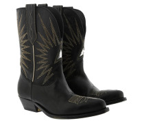 Boots Camperos Black Leather