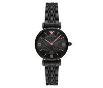 Uhr AR11245 Dress Watch Black