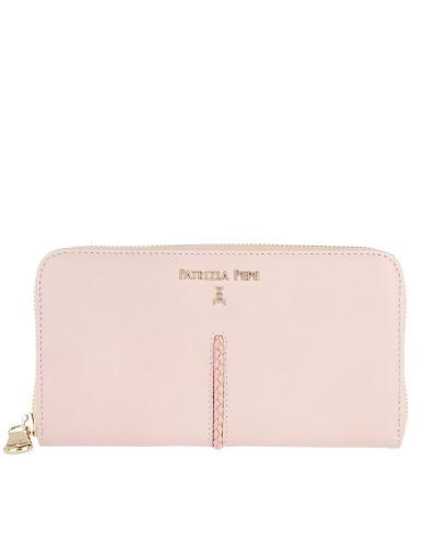 Zip-Around Wallet Butterfly Rose Portemonnaie rosa