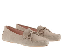 Schuhe Josephine Mocasin Microtina Sand