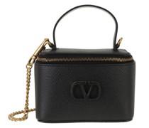 Umhängetasche VSling Pochette Leather Black
