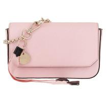Umhängetasche Bond Pouch Chain Strap Leather Pink