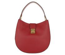 Patricia Park Avenue Hobo Large Ruby Tan Bag