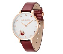 Uhr Angel of Heart Set Burgundy