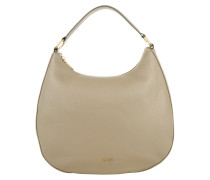 Tasche - Aja Nature Grain Hobo Small Light Grey