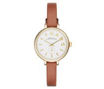 Armbanduhr - Sally Ladies Watch Cognac/Gold