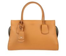 Tasche - Note Leather Tote Medium Brown