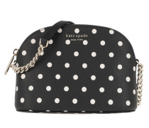 Umhängetasche Spencer Cabana Dot Small Dome Crossbody Wallet Black Multi