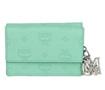 Portemonnaie Klara Leather Three Fold Wallet Blue