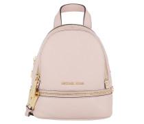 Rhea Zip XS Messenger Backpack_ Soft Pink Rucksack