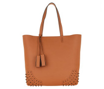 Satchel Wave New Tote Soft Gommini Brandy