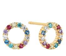 Ohrringe Biella Uno Piccolo Earrings Multicoloured Zirconia