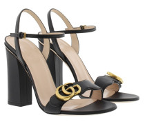 Liffard Heel Sandale Nero Pumps