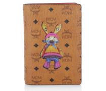Kleinleder - Rabbit Passport Holder Cognac