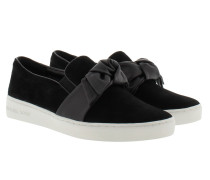 Willa Slip On Black Sneakers