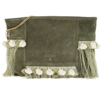 Fringed Clutch Daily Green