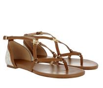Terri Flat Sandal Vanilla/ Acorn Sandalen