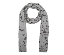 Schal - Print Scarf Grey/Rose