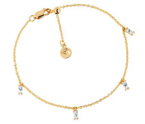Armband Princess Ankle Chain Yellow Gold