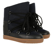 Nowles Snow Boots Flannel Carry Over Midnight Schuhe blau