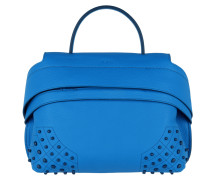 Shoulder Bag Wave Mini Gommino Miami Bluette Tote