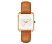 Ladies Lake Watch Gold-Tone Brown Armbanduhr braun