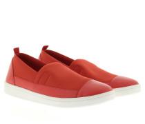 Sneakers - Brigid Sneaker Scuba Nappa Bright Flame