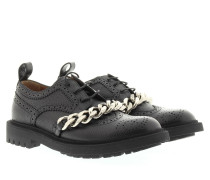 Loafers & Slippers - Derby Masc Chain Brogues Black