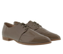 Ismene Derby Lace Patent Grey Schuhe