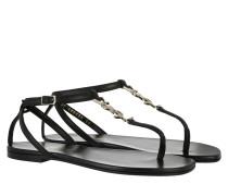 Nu Pied Sandal Calfskin Nappa Nero Sandalen