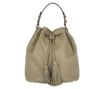 Tasche - Adria Bucket Bag Calf Leather Khaki