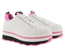 Wave Plateau Sneakers Pink Sneakerss