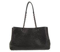 Tasche - Tote Bag Chain Intrecciato Nero