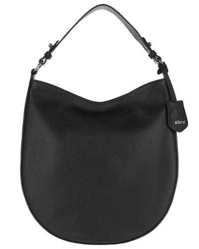 Hobo Bag Adria Hobo Bag Black/Nickel schwarz