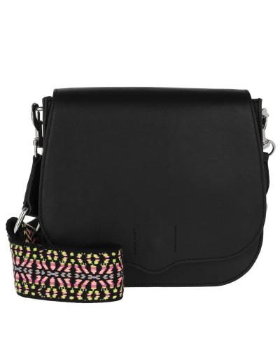Rebecca Minkoff Damen Sunday Saddle Bag Black Tasche