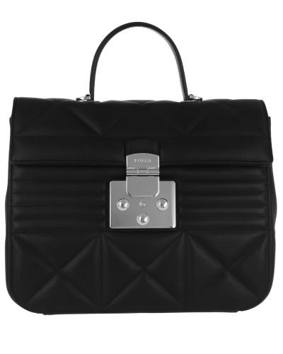 Satchel Bag Fortuna M Top Handle Bag Onyx schwarz