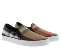 Gauden Slip On Sneakers Classic Check Sneakerss