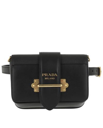 Gürteltasche Cahier Belt Bag Leather Black schwarz