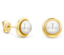 Ohrringe Freshwater Pearls Earring 14KT Yellow Gold