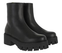 Boots Stivali Leather Nero