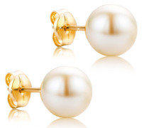 Ohrringe Freshwater Pearls Earring 18KT Yellow Gold