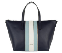 Helena Handbag Grano Linea Dark Blue Tote