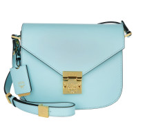 Patricia Shoulder Bag Small Light Blue Umhängetasche