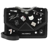 K/Klassik Pins Shoulderbag Black