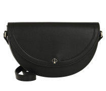Umhängetasche Andi Half Moon Crossbody Bag Black